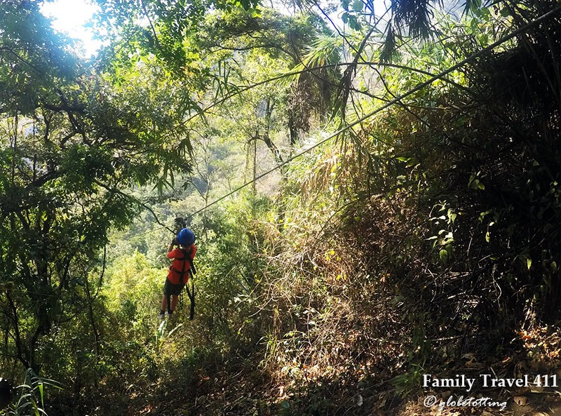 Fly through the jungle during your stay at Lake Atitlán with kids.