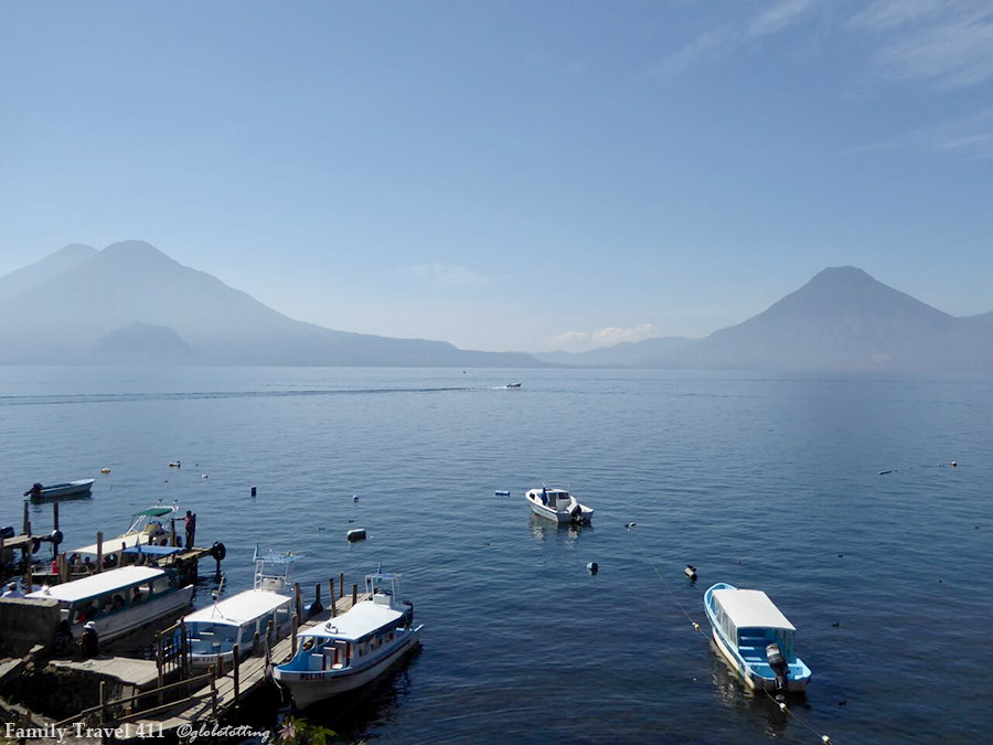 Lake Atitlan with kids