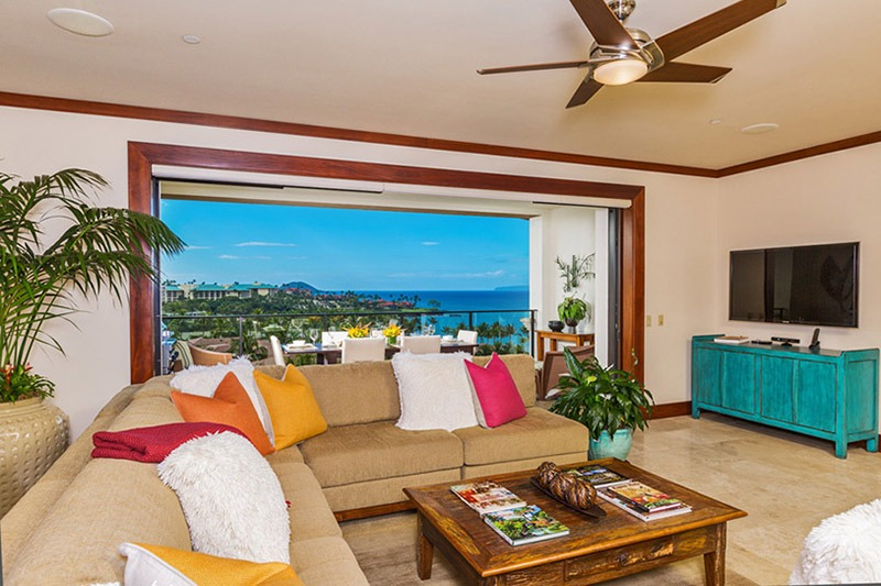 "Open (your doors) wide and say, ""Ahhhhh...."" at Wailea Beach Villas"