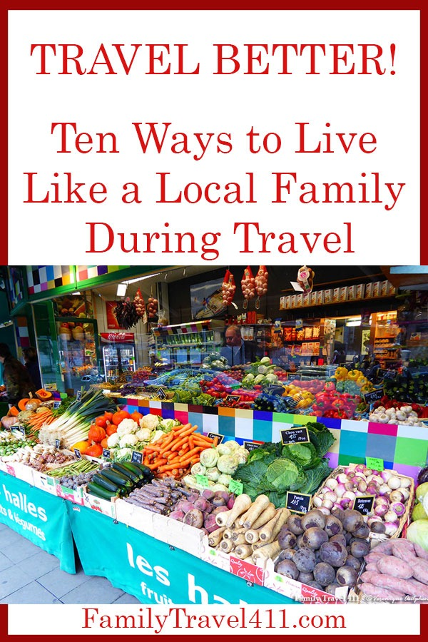 live like a local family during travel