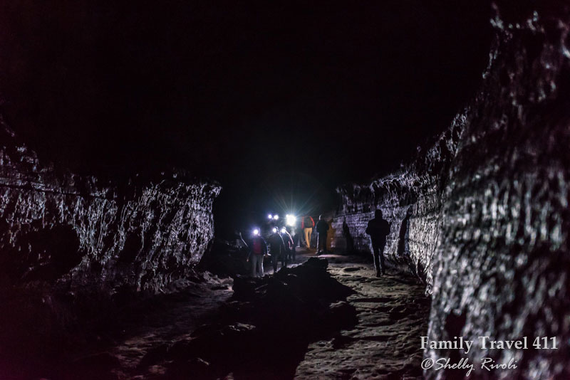 Lava River Cave in Bend, Oregon