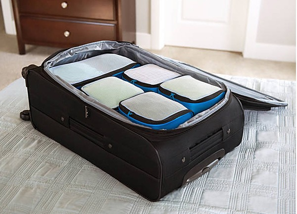 packing cubes for traveling abroad