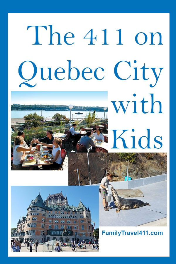 The 411 on Quebec City with Kids pinnable