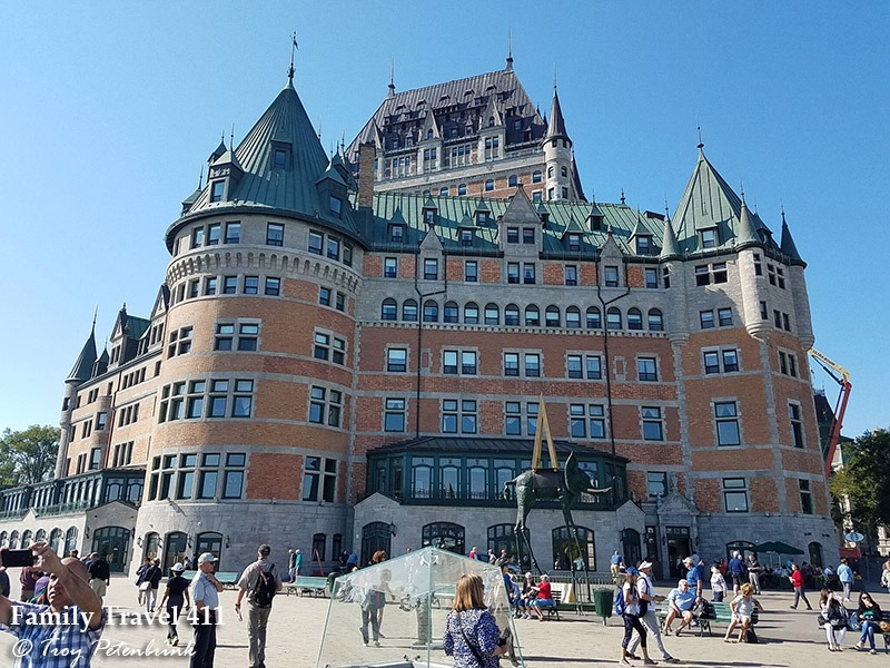 Chateau Frontenac in Old Quebec