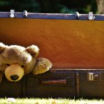 give an old suitcase to charity