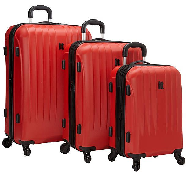 The It Luggage 3pc set exclusively from eBags.