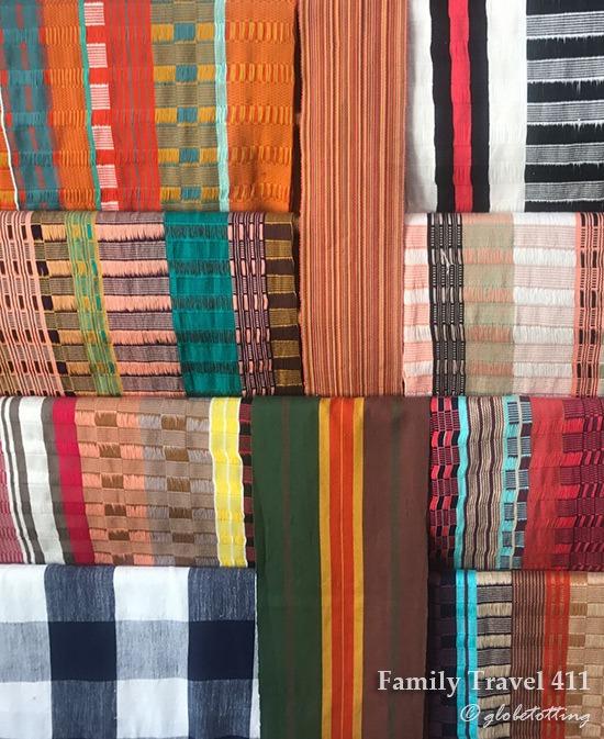 textiles for sale in San Cristobal de Las Casas, Mexico.