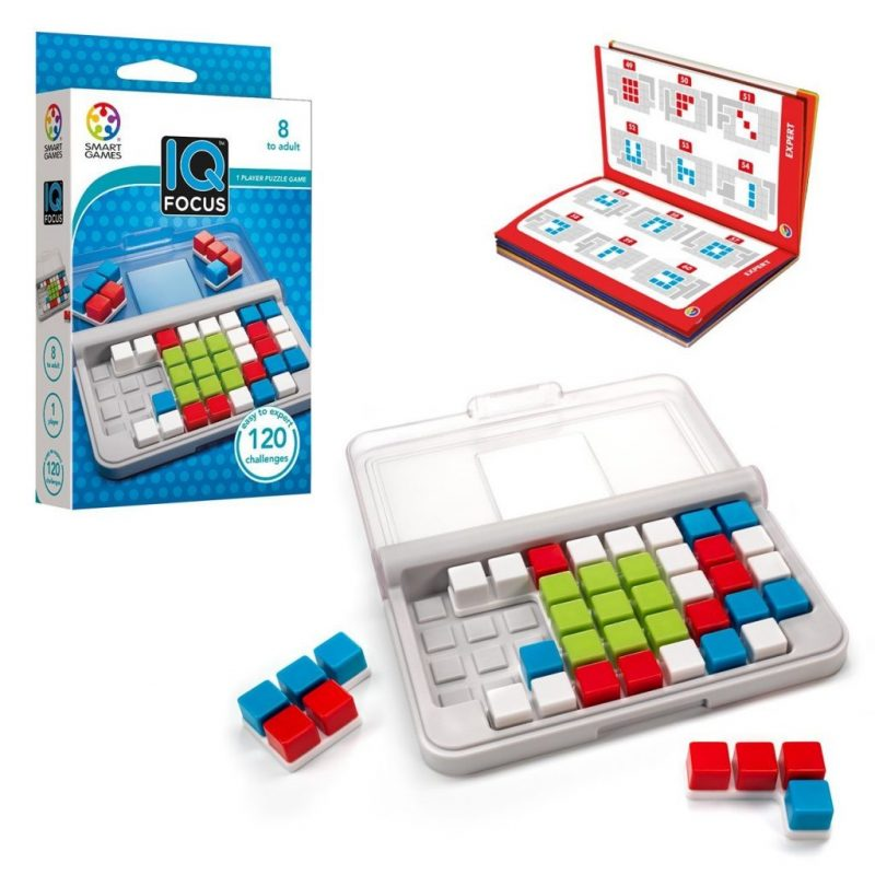 IQ focus travel toy game