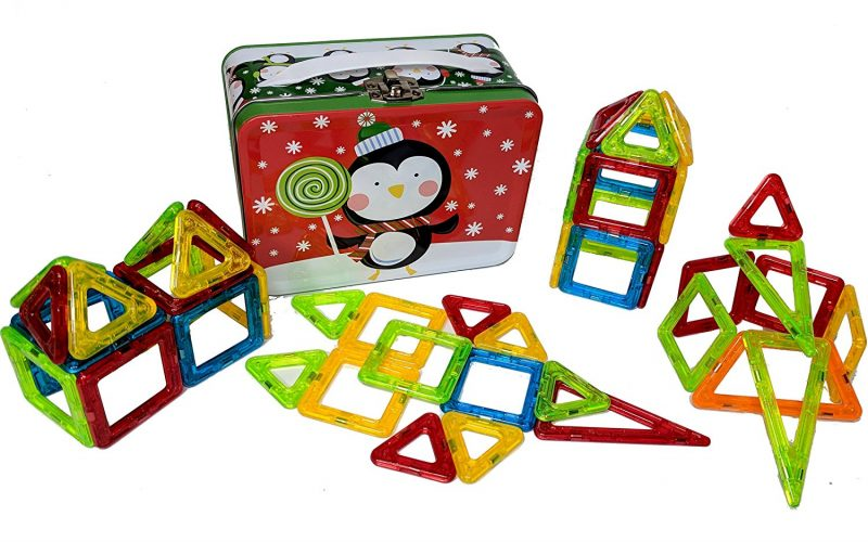 magnetic building travel toys