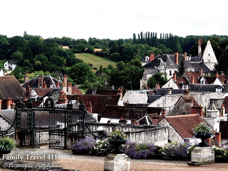 Saint-Aignan in the Loire Valley, a great home base for exploring--especially when you have a vacation rental for your home base.