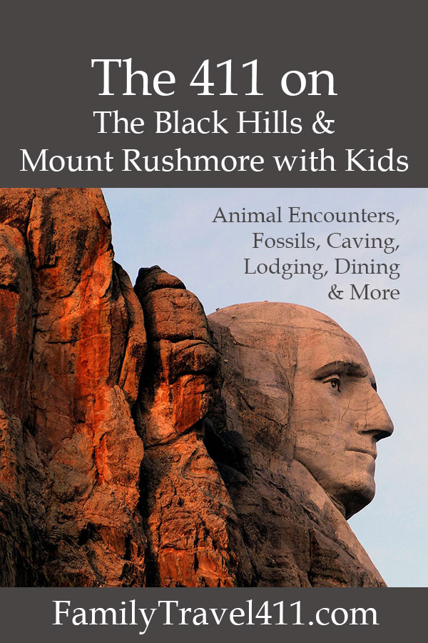 The 411 on The Black Hills and Mount Rushmore with kids pinnable