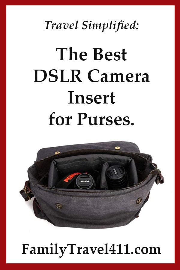 review of S-zone DSLR camera insert for purses