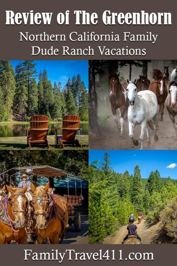 Review of The Greenhorn for northern California family dude ranch vacations