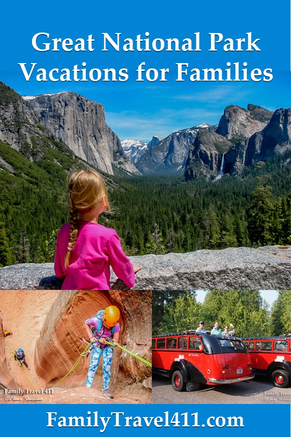 national park vacations for families
