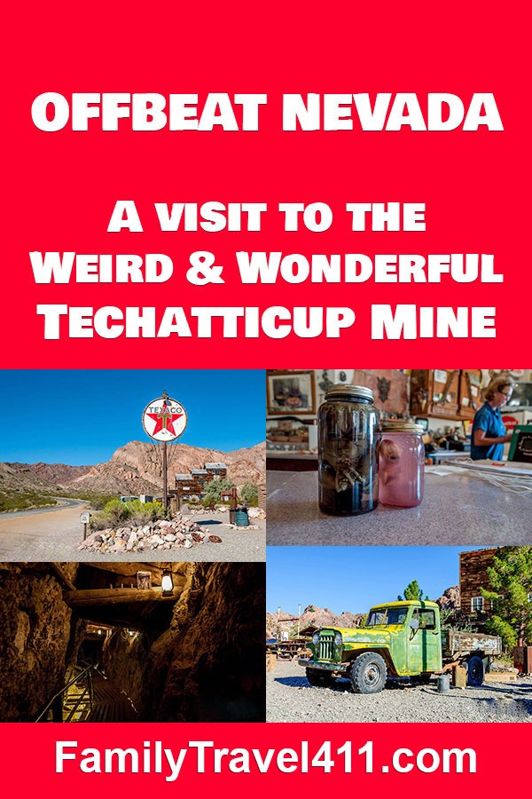 Techatticup Mine ghost town in Nevada
